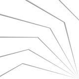 effetto 3d delle linee sottragga la priorità bassa Illustrazione di vettore Immagini Stock Libere da Diritti