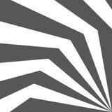 effetto 3d delle linee sottragga la priorità bassa Illustrazione di vettore Fotografia Stock