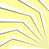 effetto 3d delle linee sottragga la priorità bassa Illustrazione di vettore Immagini Stock
