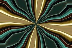 Effetto del caleidoscopio Fotografia Stock