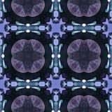 Effetto del caleidoscopio del batik nuziale Fotografia Stock