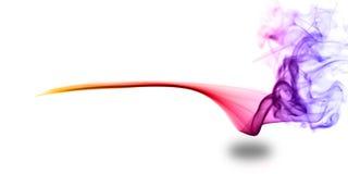 Effetto del fumo del fondo in multicolore Fotografie Stock