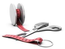 Effetto del yo-yo Fotografie Stock