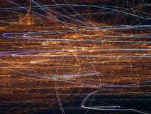 Effetto della luce Fotografie Stock Libere da Diritti