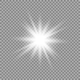 Effetto della luce di incandescenza illustrazione di stock