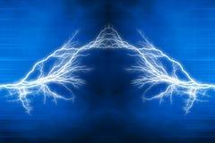 Effetto della luce elettrica Immagini Stock