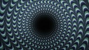 Effetto di fondo di filatura ipnotizzato di rotazione illustrazione vettoriale
