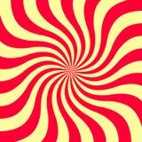 effetto di spirale 3d sottragga la priorità bassa Illustrazione di vettore Fotografie Stock