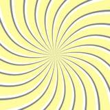 effetto di spirale 3d sottragga la priorità bassa Illustrazione di vettore Fotografie Stock Libere da Diritti