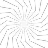 effetto di spirale 3d sottragga la priorità bassa Illustrazione di vettore Immagini Stock Libere da Diritti
