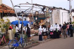 Effetto di tornado Immagine Stock