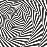 Effetto di Vasarely. Fotografie Stock Libere da Diritti