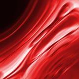 Effetto rosso dello smaragd o della cascata Immagini Stock