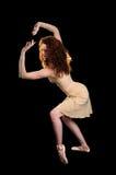 Effettuazione della ballerina Fotografia Stock Libera da Diritti