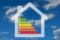 Efficency de la energía Foto de archivo libre de regalías