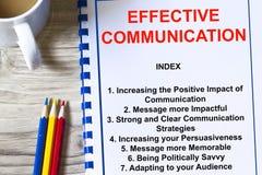 Efficiënt communicatie concept royalty-vrije stock foto's