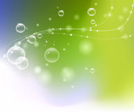 Efficiënte gekleurde achtergrond Royalty-vrije Stock Fotografie