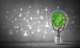 Efficiënte innovaties voor wereldecologie Royalty-vrije Stock Foto