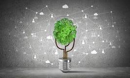 Efficiënte innovaties voor wereldecologie Royalty-vrije Stock Fotografie
