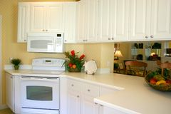 Efficiënte Keuken Stock Fotografie