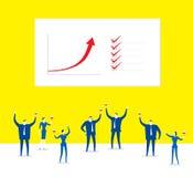 Efficiënte teams Stock Afbeeldingen