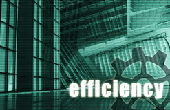 Efficiency. Futuristic as a Art Abstract Background Stock Photography