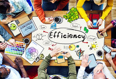 Efficiency Ability Quality Skill Expert Excellence Concept Royalty Free Stock Images