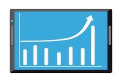 Efficiency. Business diagram Stock Photos