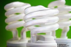 Efficient bulbs Stock Photo