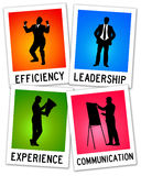 Efficient communication Stock Images