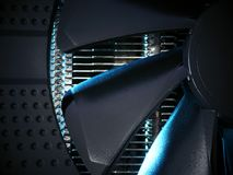 Efficient cooling system for electronic GPU and CPU processors. Abstract information technology background Stock Photos