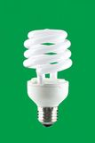 Efficient lightbulb Royalty Free Stock Photos