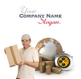 Efficient logistics Royalty Free Stock Photos