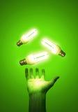 Efficiënte energie Royalty-vrije Stock Afbeeldingen