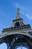 Effiel Tower. Located at the Champs de Mars, Paris.  One of the most well known landmarks in Paris Stock Photo