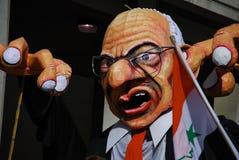 effigie de dick de cheney photo libre de droits