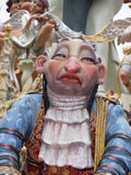 Effigies in the Street during the annual Celebration of Las Fallas, Valencia, Spain Stock Images