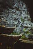 Effondrement dans le wulong, Chongqing, porcelaine Image libre de droits