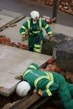 Effondrement de construction, zone de catastrophe photos stock