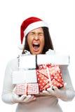 Effort de Noël Image libre de droits