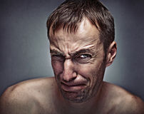 Effort expression Royalty Free Stock Photos