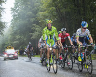 Effort Inside the Peloton Royalty Free Stock Photography