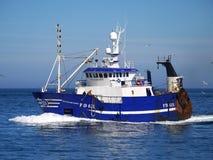 Effort PD625 d'océan de bateau de pêche images stock