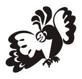 Effrayez un cockatoo. photos libres de droits