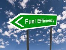 Eficacia del combustible ilustración del vector