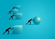 Eficacia en negocio Imagen de archivo