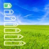 Eficiência energética fotografia de stock royalty free