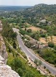 ` Efner Val d, Les Baux de Провансаль, Bouches-du-Рона, Провансаль стоковое фото