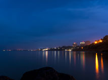 Eforie Nord by night Stock Image