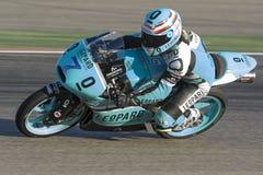 Efren VAZQUEZ Moto3 Grand Prix Movistar Aragà ³ ν MotoGP Στοκ εικόνες με δικαίωμα ελεύθερης χρήσης